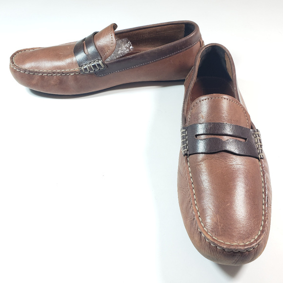9fcd630f4c9d8 J&M Johnston and Murphy Men's Leather Penny Loafer
